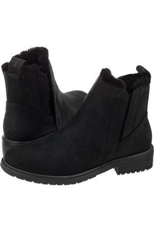 b05717922d989 Emu Sztyblety Pioneer Leather Black W11692 (EM235-a)