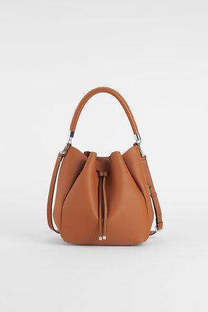 f3e451316b580 zakupy damskie torby worki Zara, porównaj ceny i kup online