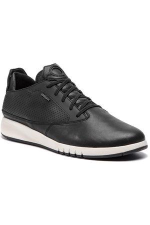 Geox Mężczyzna Buty casual - Sneakersy - U Aerantis A U927FA 00043 C9999 Black