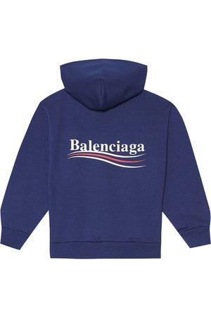 Balenciaga Cotton-blend hoodie