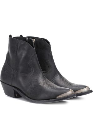 Golden Goose Young leather ankle boots