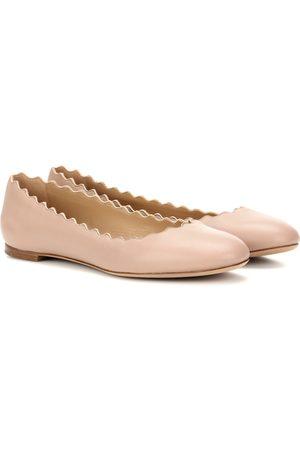 Chloé Kobieta Baleriny - Lauren leather ballerinas