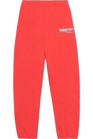 Balenciaga Dziewczynka Spodnie - Kids' cotton-blend trackpants