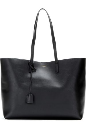 Saint Laurent Kobieta Portmonetki i Portfele - Leather shopper
