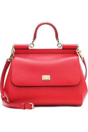 Dolce & Gabbana Kobieta Torebki - Miss Sicily Medium leather shoulder bag