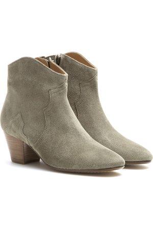 Isabel Marant Kobieta Botki - Dicker suede ankle boots