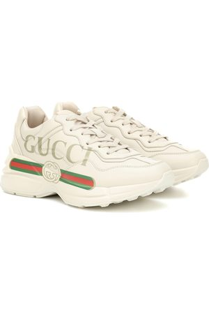 Gucci Kobieta Sneakersy - Rhyton leather sneakers