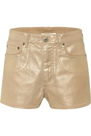 Chloé Exclusive to Mytheresa – Coated denim shorts