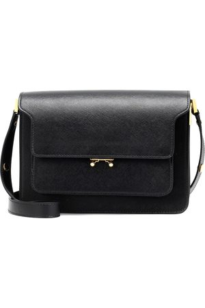 Marni Trunk leather shoulder bag