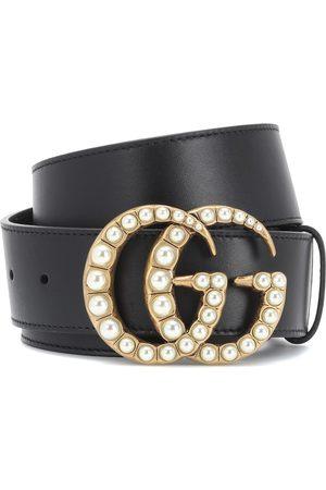 Gucci Kobieta Paski - Embellished leather belt