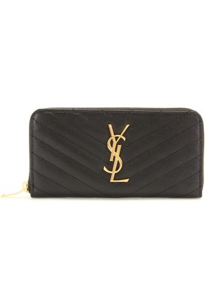 Saint Laurent Kobieta Torebki - Monogram leather wallet