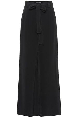 Etro Kobieta Spodnie z szeroką nogawką - Wide-leg silk pants