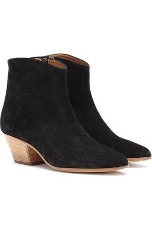Isabel Marant Kobieta Botki - Dacken suede ankle boots