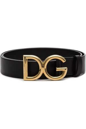 91d27eda57b5c Dolce   Gabbana Logo buckle leather belt