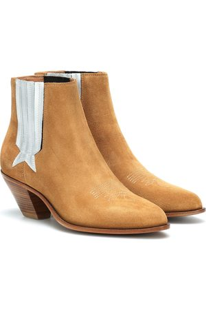 Golden Goose Sunset suede cowboy boots