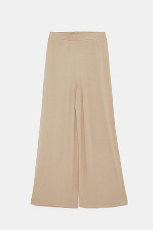 Zara Spodnie - FLOWING TROUSERS