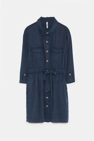 Zara SHIRT DRESS WITH BELT