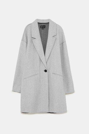 Zara SOFT FABRIC COAT