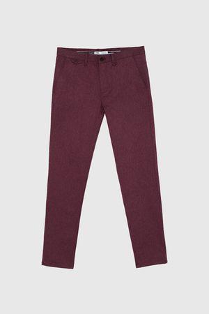 Zara Spodnie chinosy