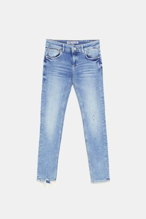 Zara SUPER LOW-RISE PREMIUM QUALITY JEANS