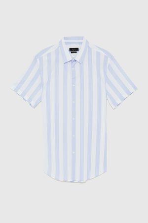 Zara Mocno dopasowana koszula