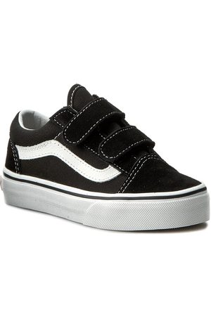 Vans Półbuty - Old Skool V VN000VHE6BT Black/True White