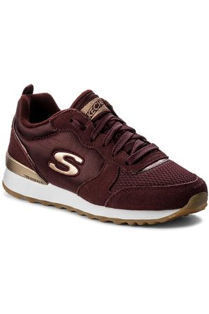 Skechers Sneakersy - Goldn Gurl 111/BURG Burgundy
