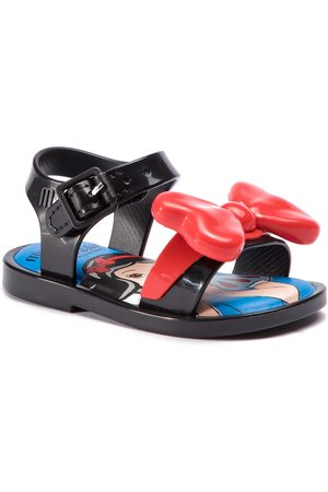 Melissa Sandały - Mini Mar Sandal + Snow 32531 Black 51484