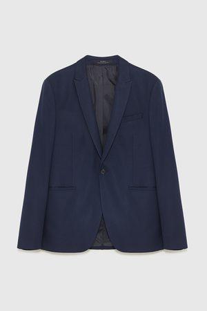 Zara Marynarka od garnituru z tkaniny strukturalnej