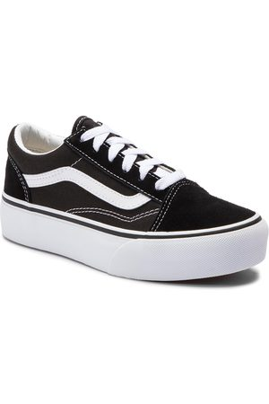 Vans Tenisówki - Old Skool Platfor VN0A3TL36BT1 Black/True White