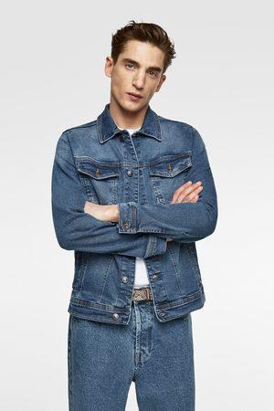 modne męskie kurtki jeansowe Zara, porównaj ceny i kup online
