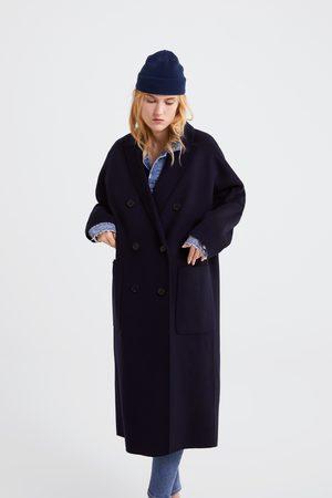 Zara Długi płaszcz