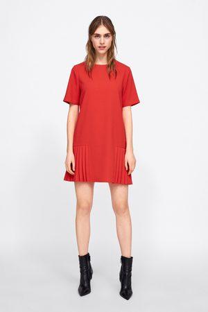 Zara Sukienka z zakładkami
