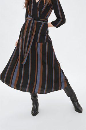 Zara Sukienka w paski