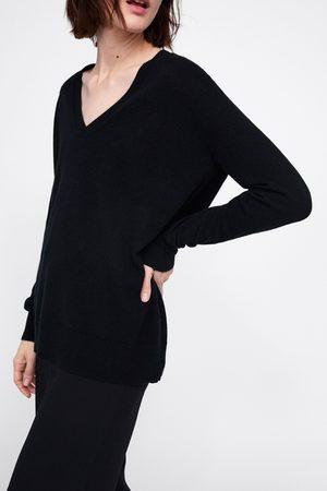Zara Kaszmirowy sweter