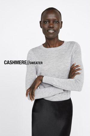 Zara Kaszmirowy sweter z kolekcji basic