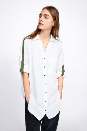 Zara Koszula z lampasami po bokach