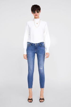 Zara Jeans zw premium skinny maldives blue
