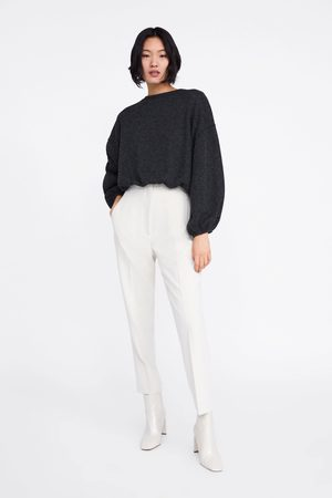 Zara Ribbed sweatshirt