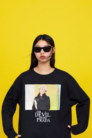"""Zara Bluza """"diabeł ubiera się u prady"""" © 2019"""