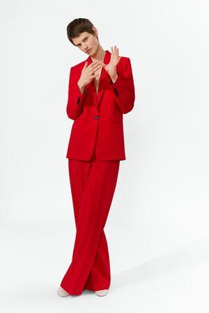 Zara Spodnie o prostym kroju