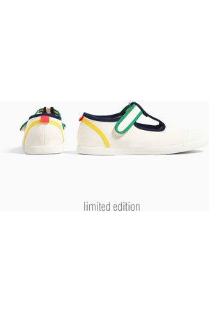 Zara Plimsolls with coloured trims