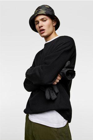 Zara Bluza z tkaniny strukturalnej