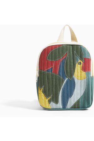 Zara Mini plecak z tukanem