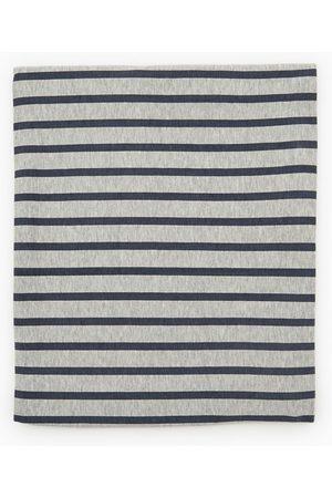 Zara Bawełniany szalik kominowy w paski