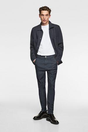 Zara Spodnie jeansowe chinosy