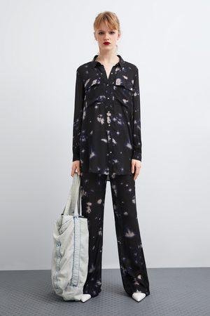 Zara Koszula farbowana metodą tie & dye