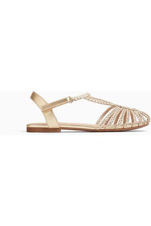 Zara Fantazyjne sandały rzymianki