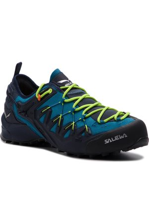 Salewa Trekkingi - Wildfire Edge 61346-3988 Premium Navy/Fluo Yellow
