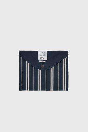 Zara Komplet piżamowy z łączonych tkanin